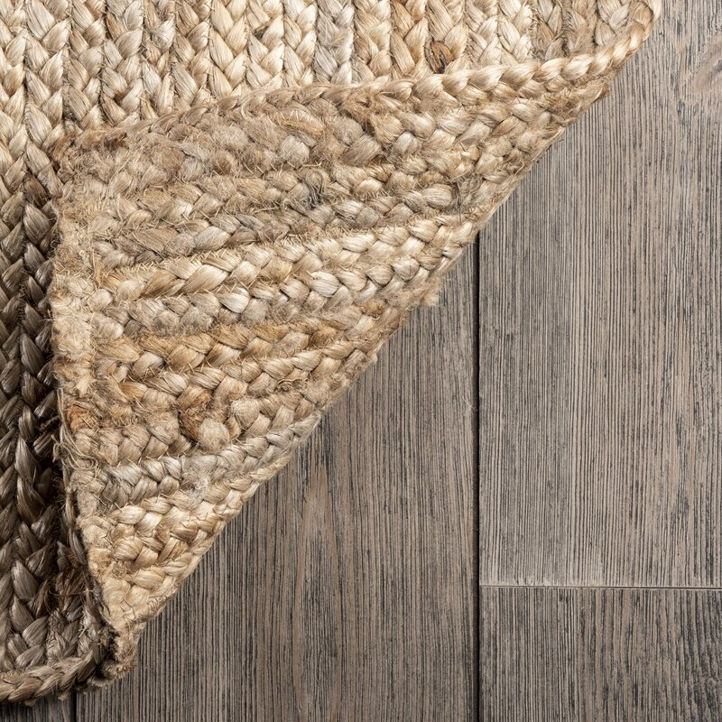 Hand Braided Jute/Sisal Natural Area Rug