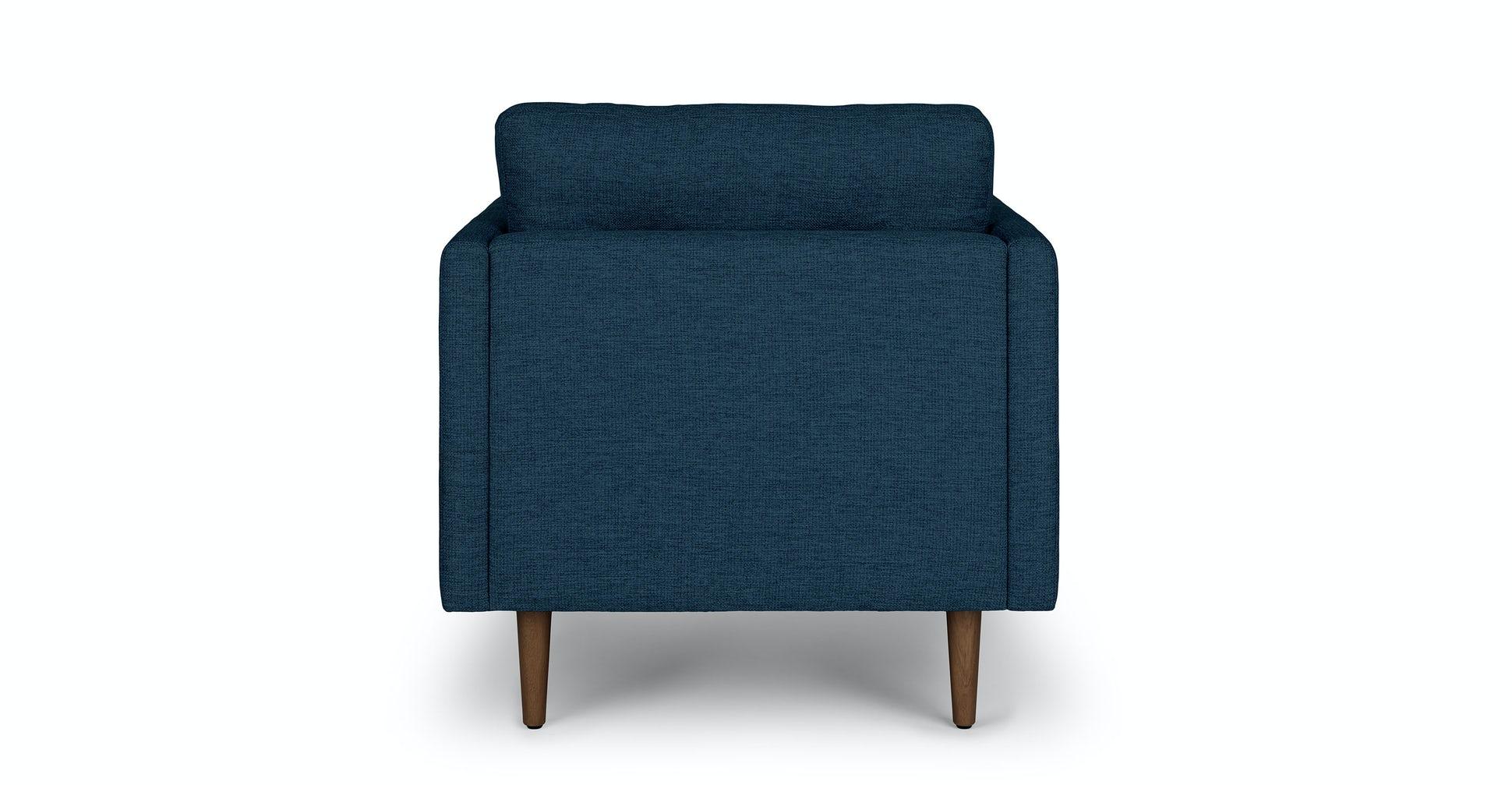 Anton Twilight Blue Lounge Chair