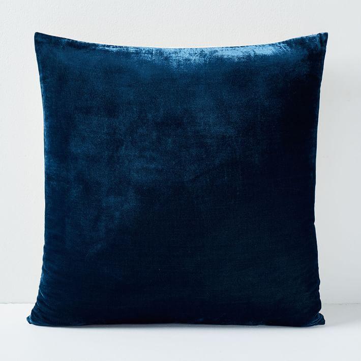 Lush Velvet Pillow Cover - Regal Blue
