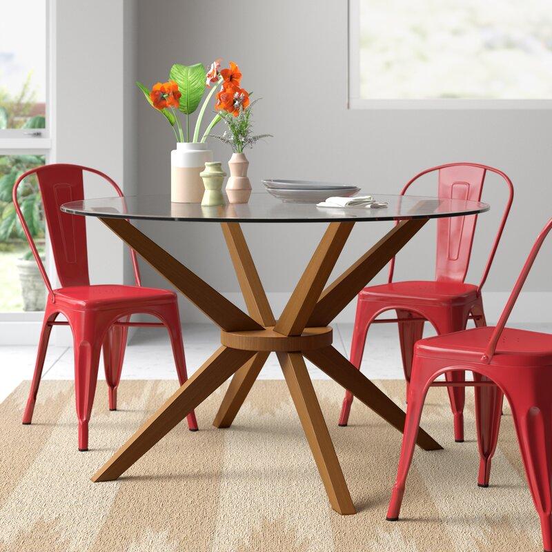 Haleigh 48'' Pedestal Dining Table