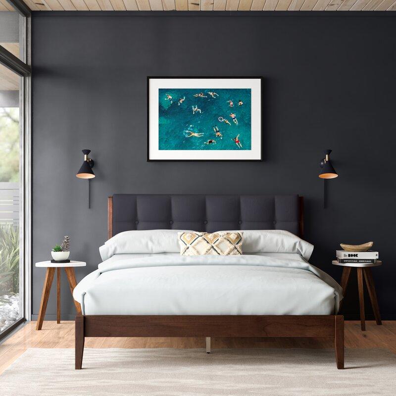 Sonya Queen Upholstered Platform Bed