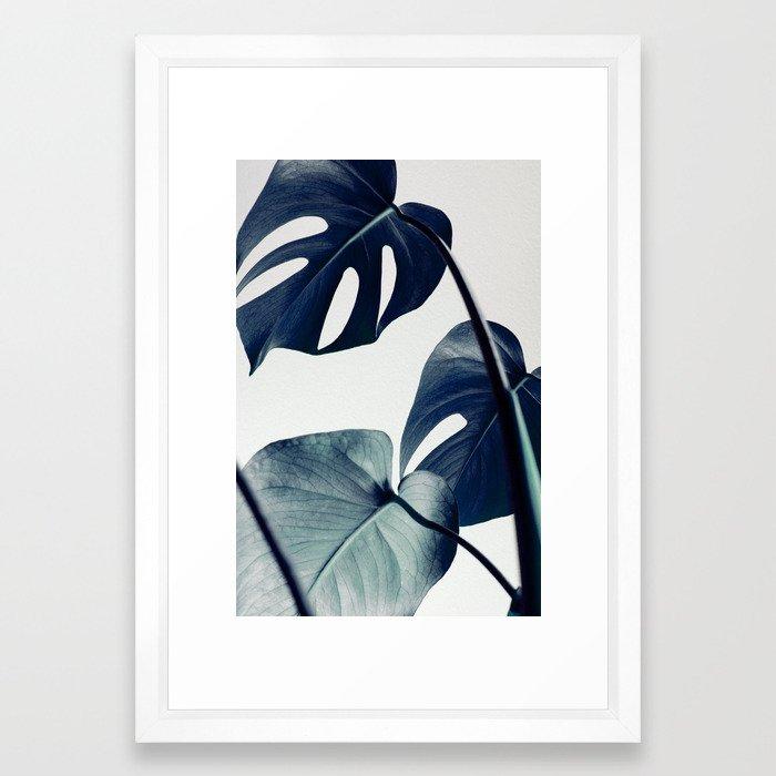 botanical vibes II Framed Art Print 15 x 21