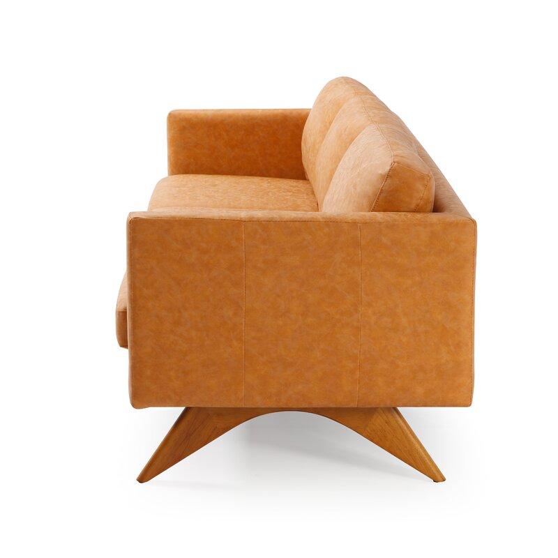 "Rickert 82.25"" Square Arms Sofa"