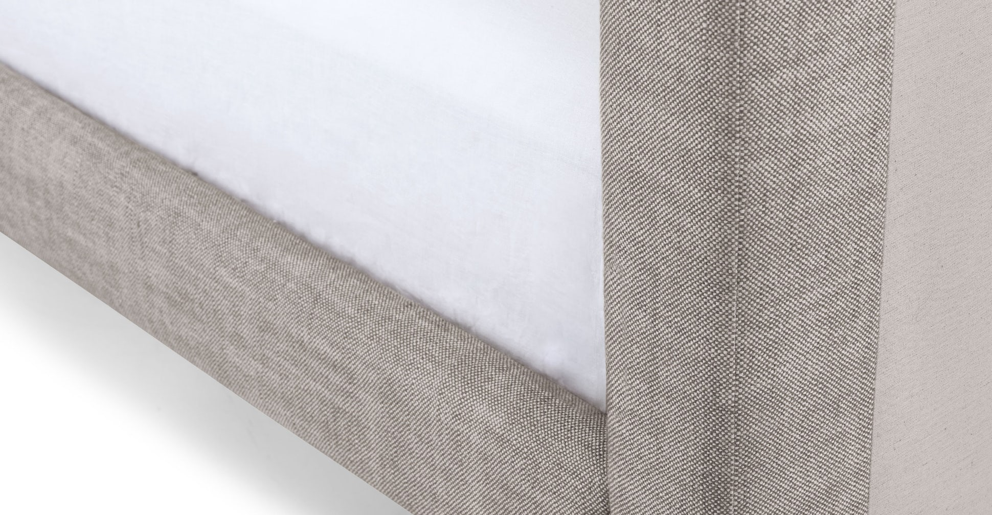 tessu glaze gray king bed