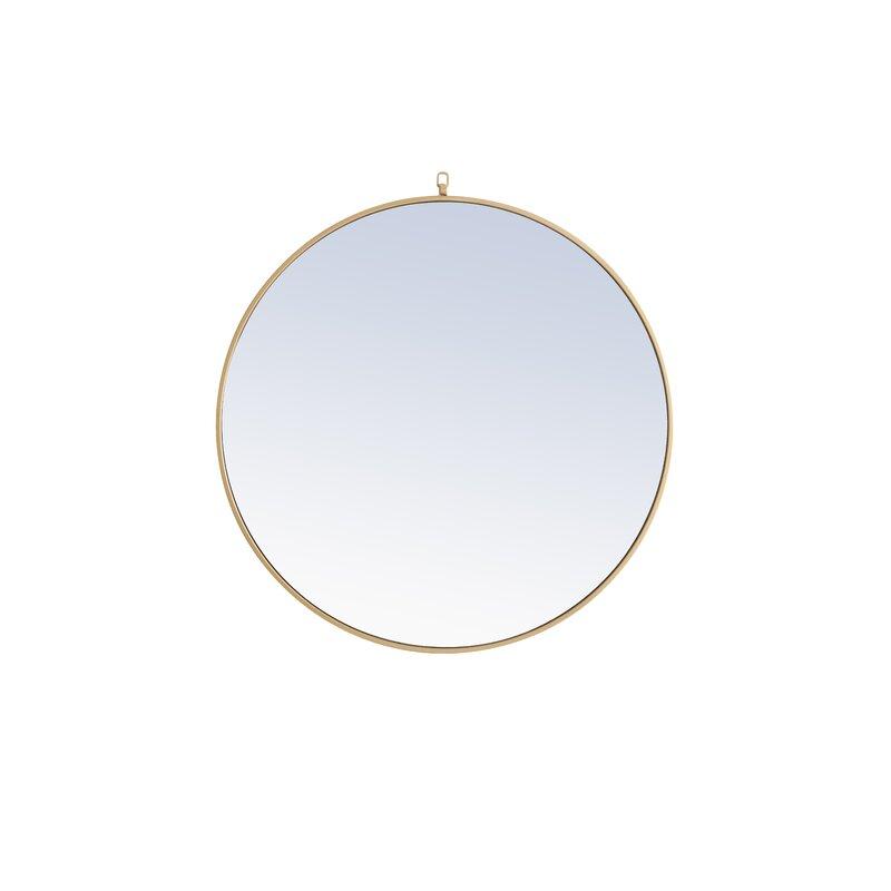 Yedinak Modern & Contemporary Distressed Accent Mirror