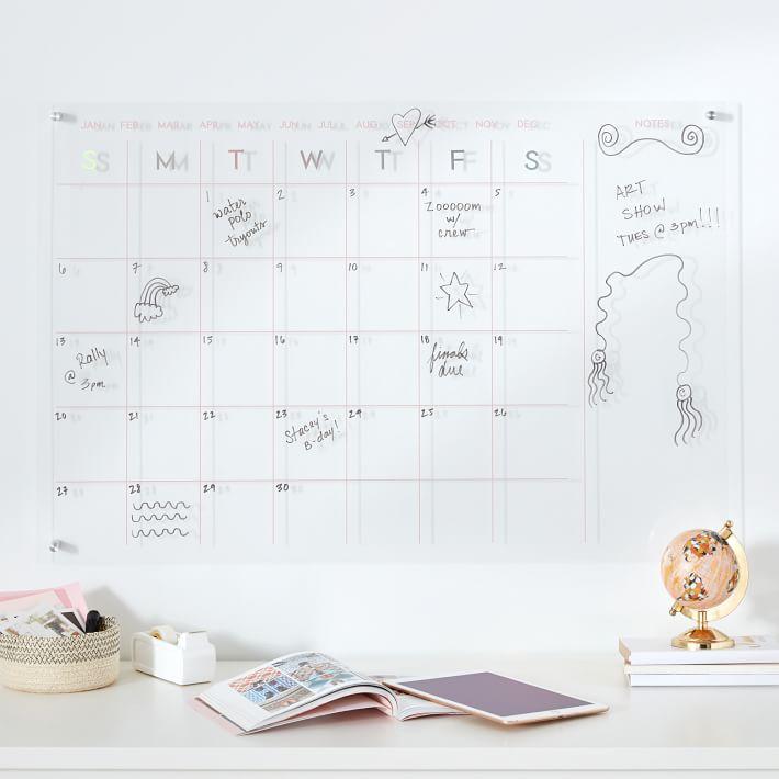 Iridescent Calendar, 36x24