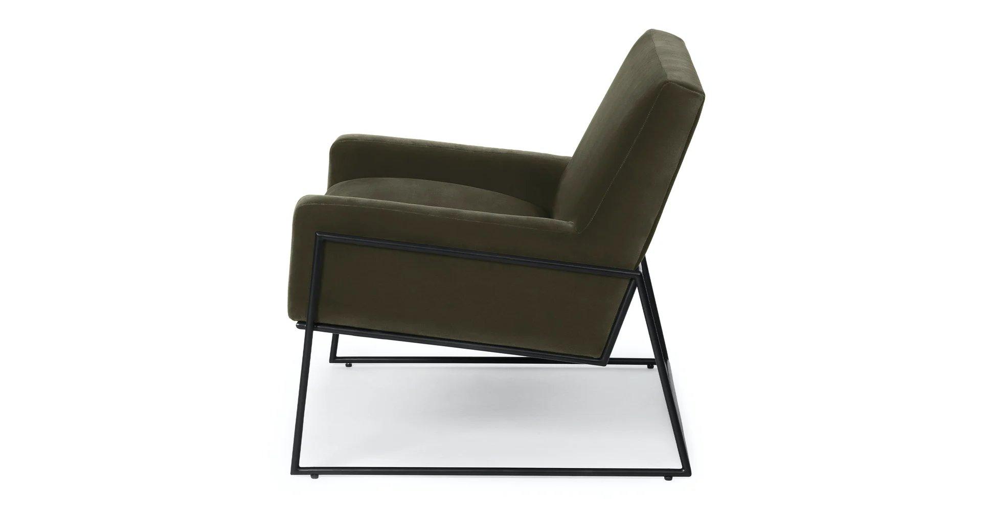 Regis Juniper Green Lounge Chair