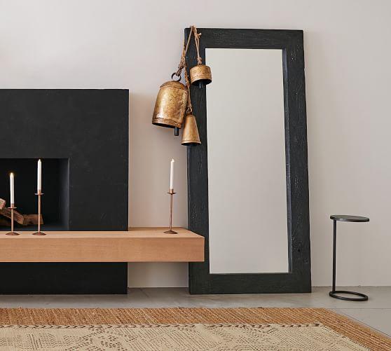 "Bozeman Floor Mirror, Wood, 38"" X 82"" X 1.5"""