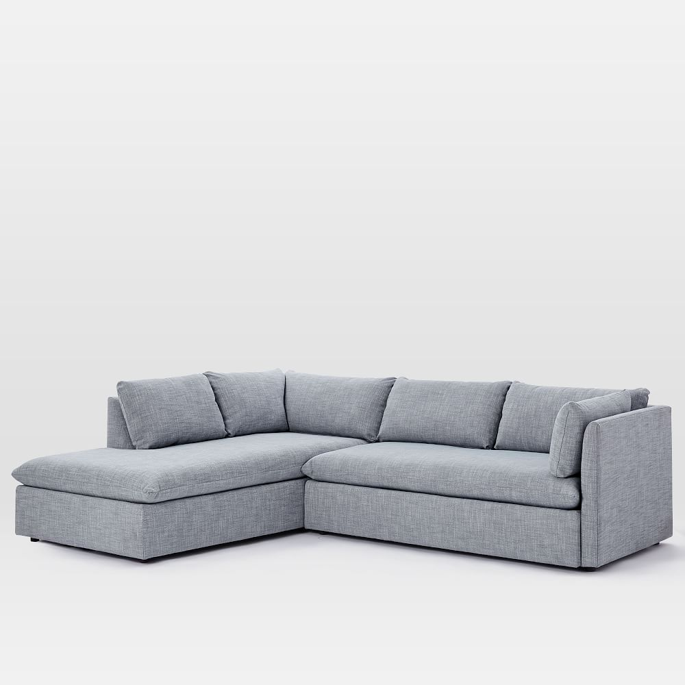 Shelter Left 2-Piece Terminal Chaise Sectional