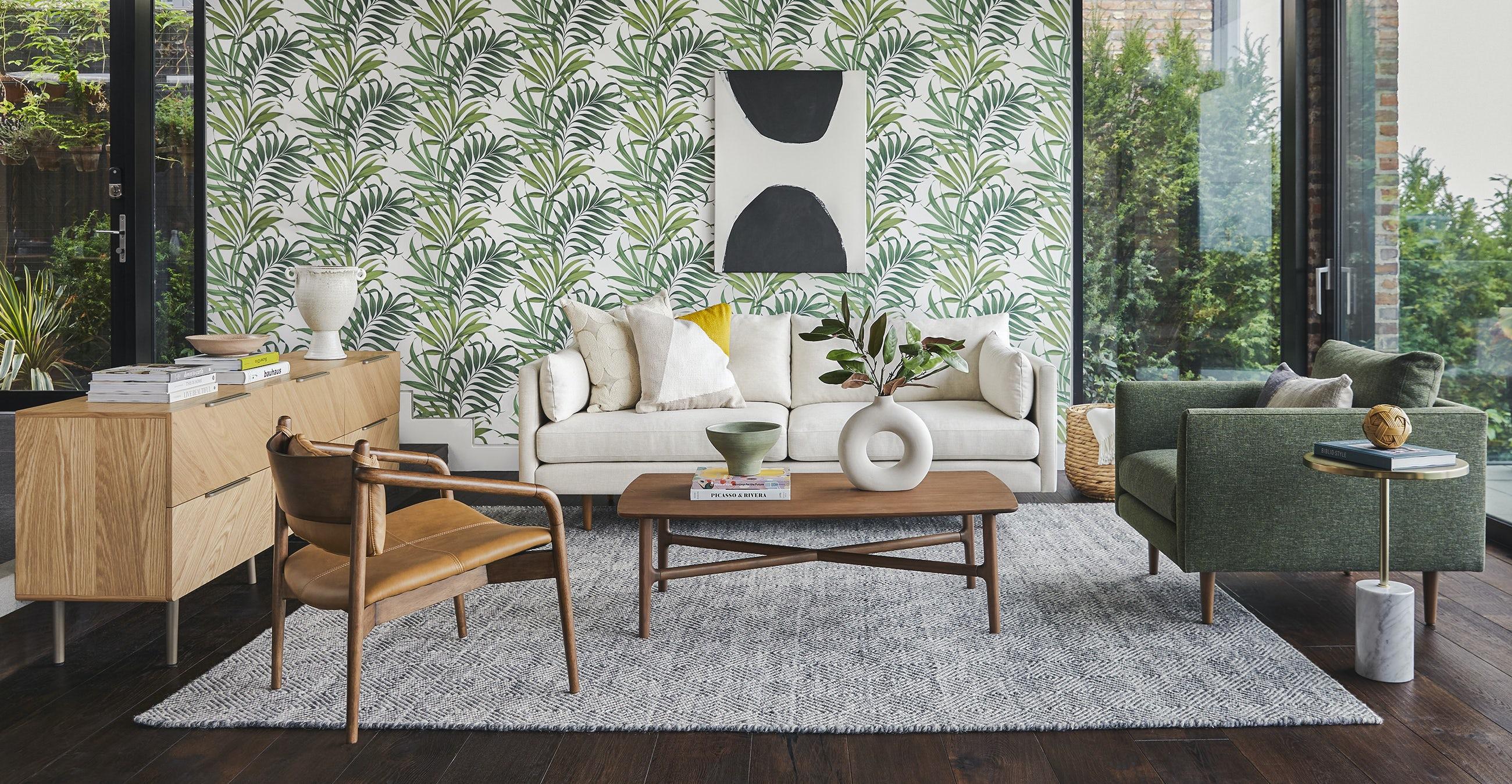 Burrard Forest Green Chair