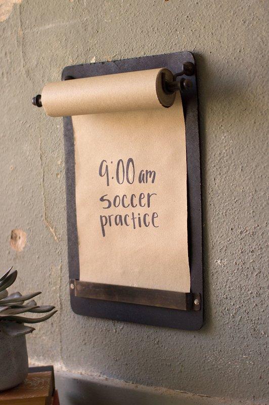 Note Roll Wall Mounted Chalkboard