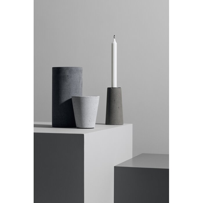 Coluna Flower Stone Pot Planter