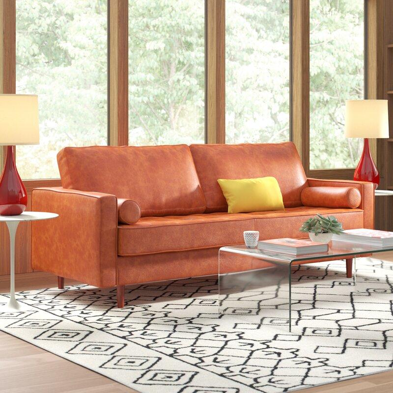 Ainslee Leather Sofa