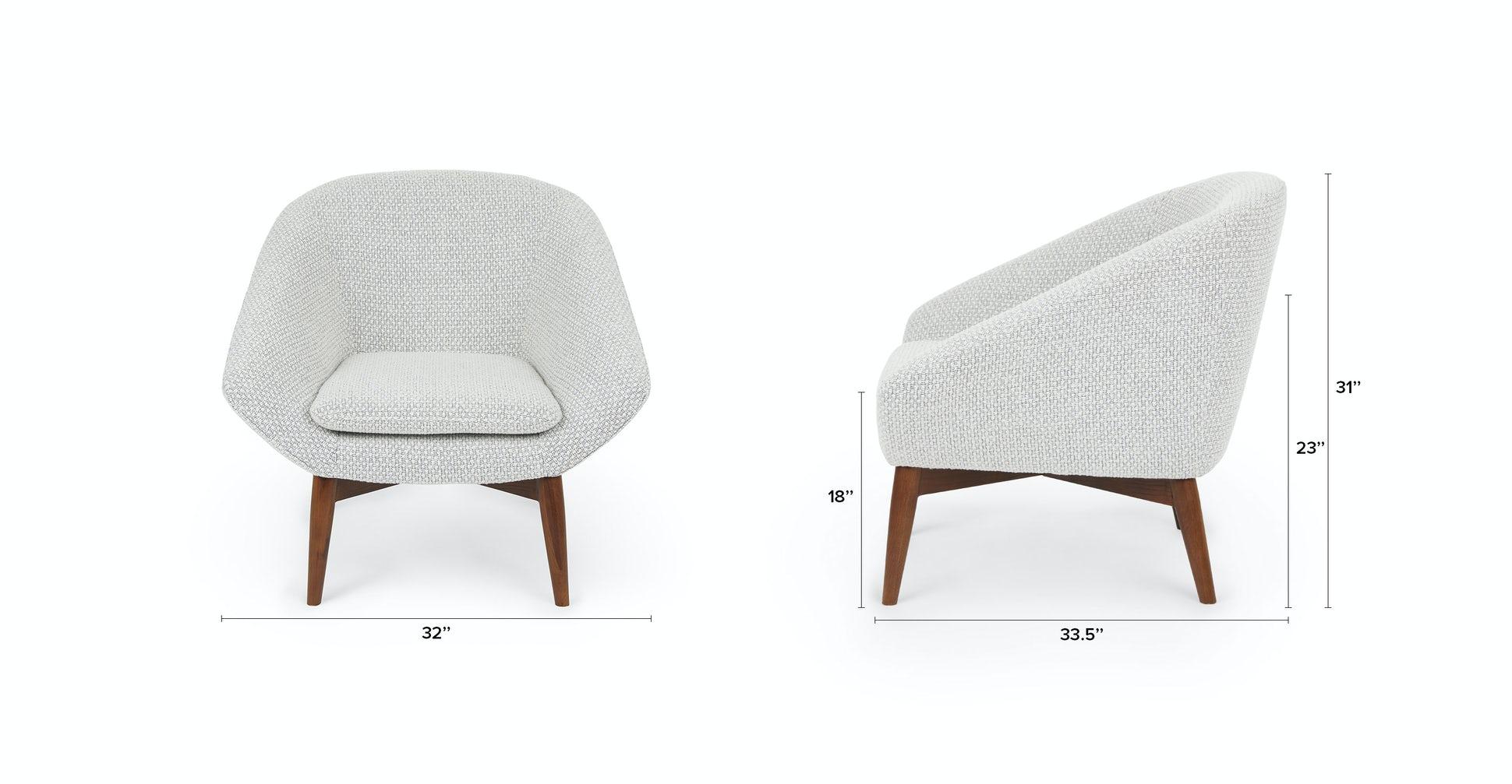 Resa Hartford Boucle Lounge Chair