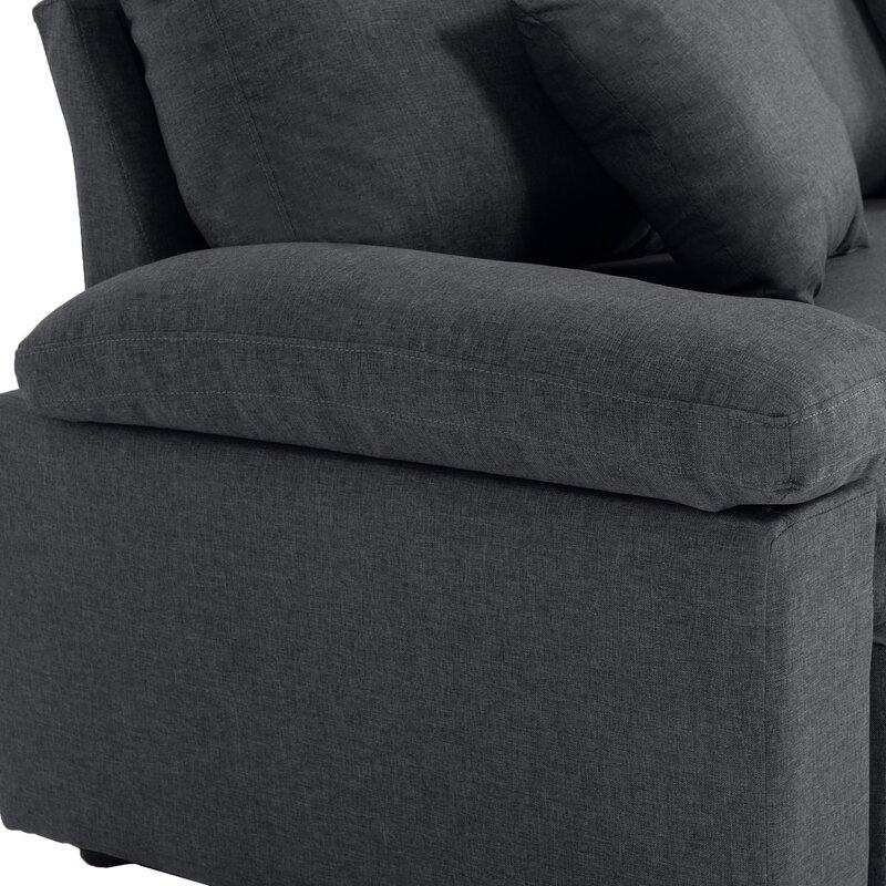 "Compton Martin 87"" Wide Right Hand Facing Sleeper Sofa & Chaise"