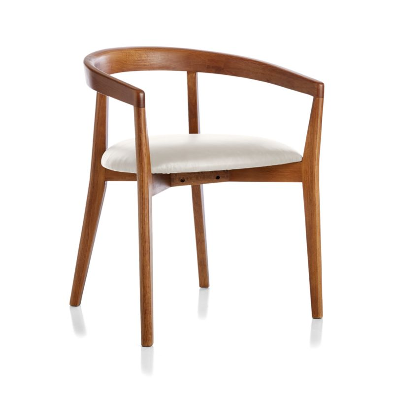 Cullen Shiitake Sand Round Back Dining Chair
