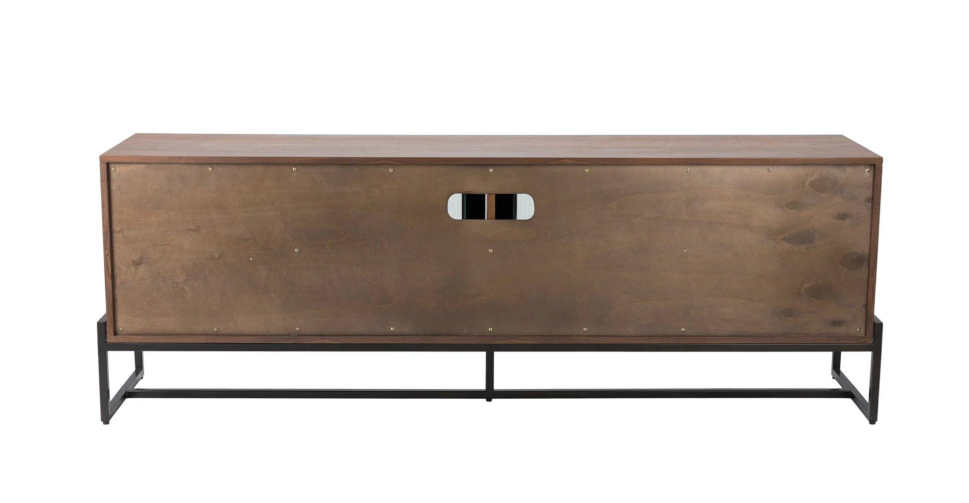 "Oscuro Walnut 73"" Cabinet"