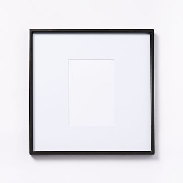 """Gallery Frame, Antique Bronze, 5"""" x 7"""" (12"""" x 12"""" without mat)"""