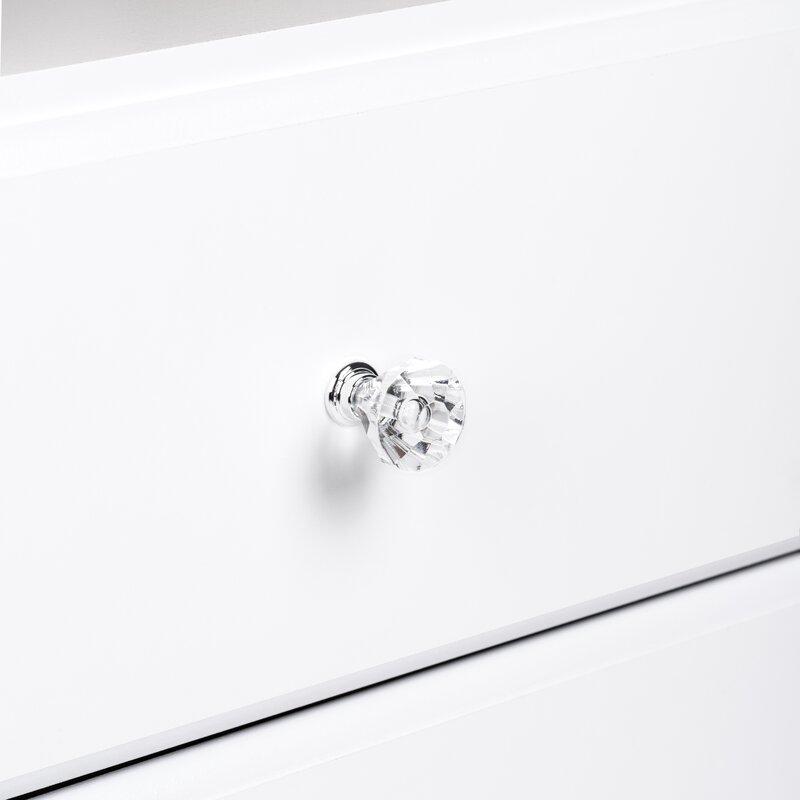 Doyle 6 Drawer Double Dresser - Crystal Hardware