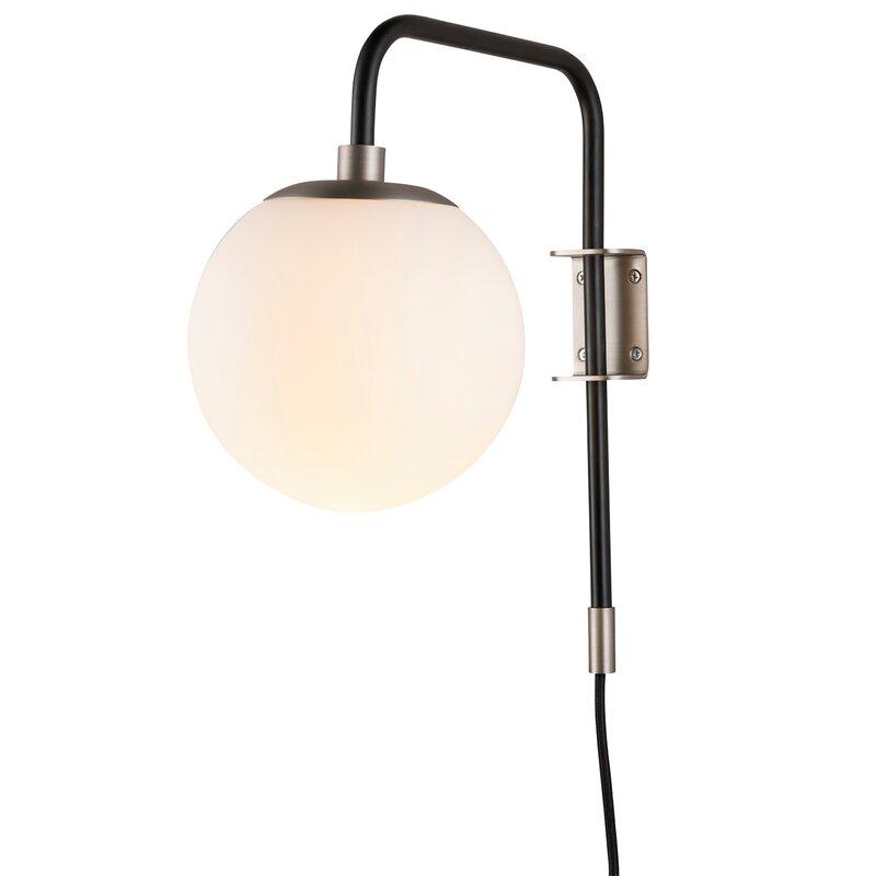 Birchanger 1-Light Plug-In Armed Sconce