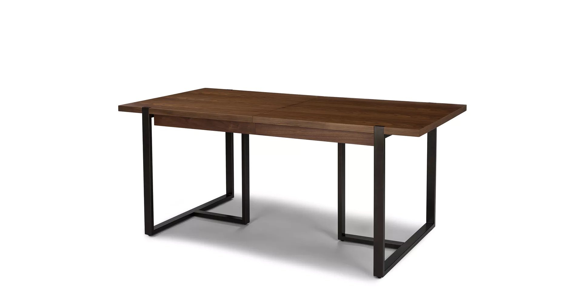 Oscuro Walnut Extendable Dining Table