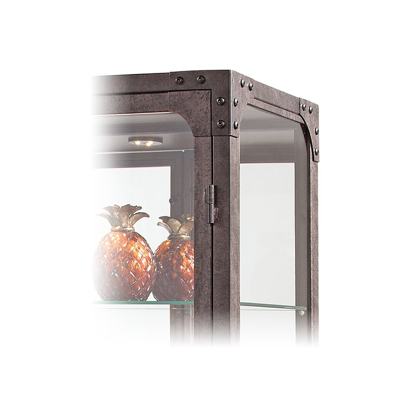Whittlesey Lighted Curio Cabinet