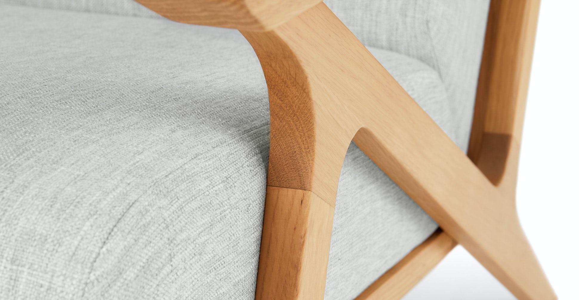 Otio Mist Gray Oak Lounge Chair