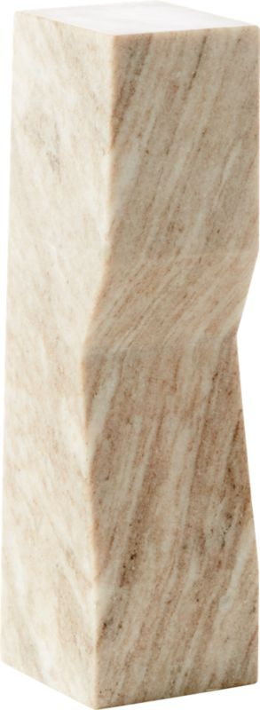 Vesta Marble Sculpture Pedestal Large