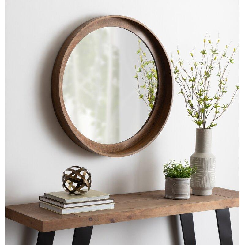 Alea Elizabeth Rustic with Shelves Accent Mirror