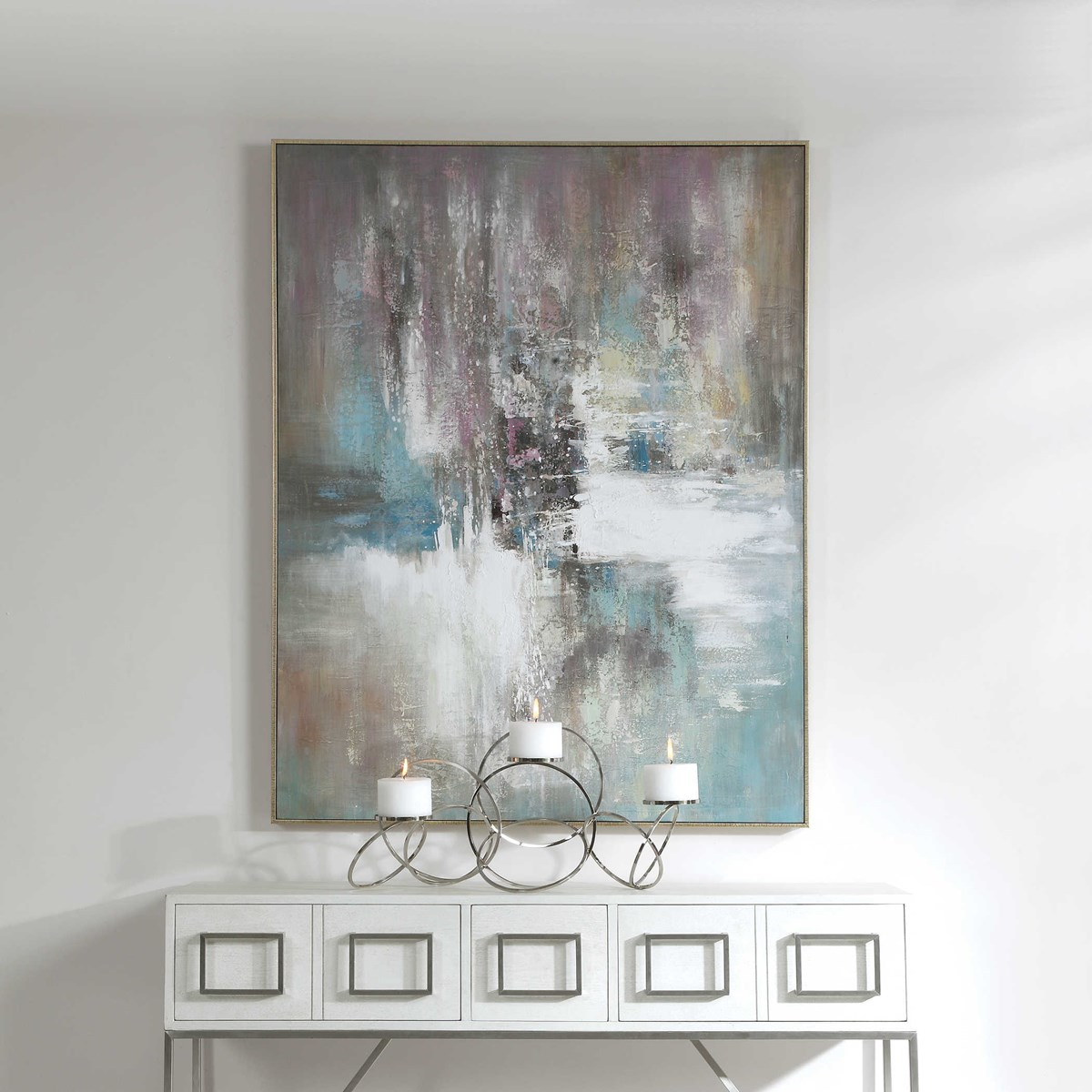 Elevation Hand Painted Canvas