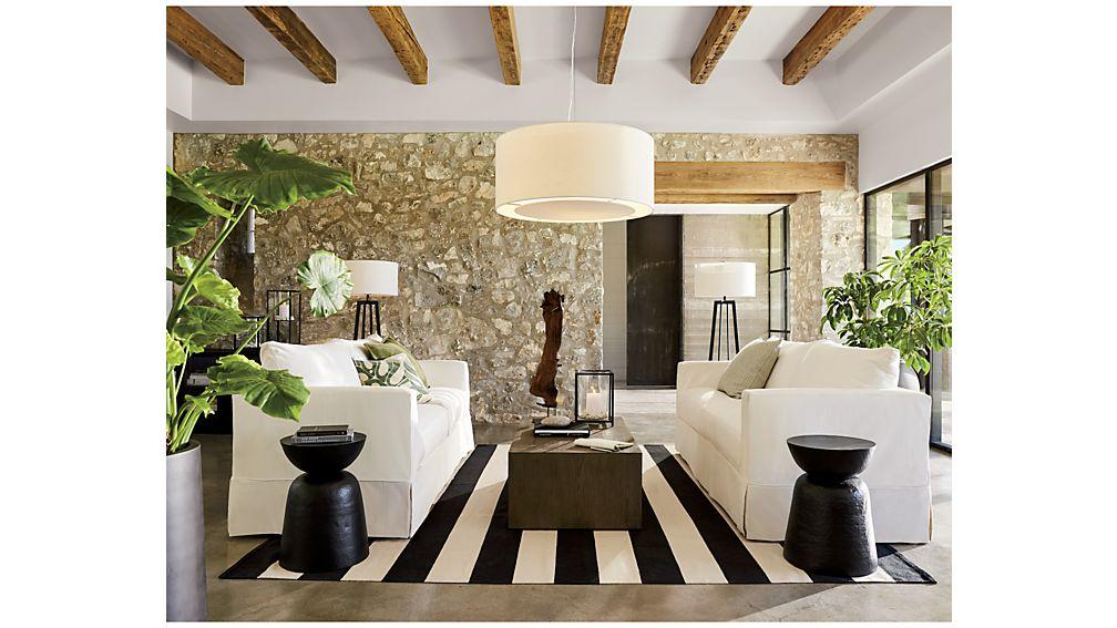 Willow Modern Slipcovered Sofa