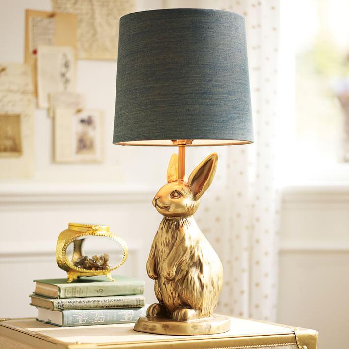 The Emily and Meritt Bunny Table Lamp & Shade