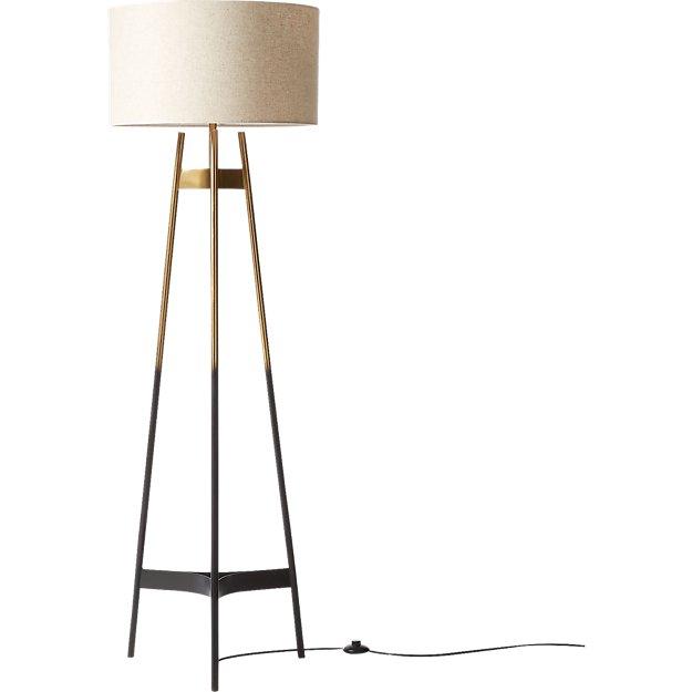 Brace Ombre Floor Lamp