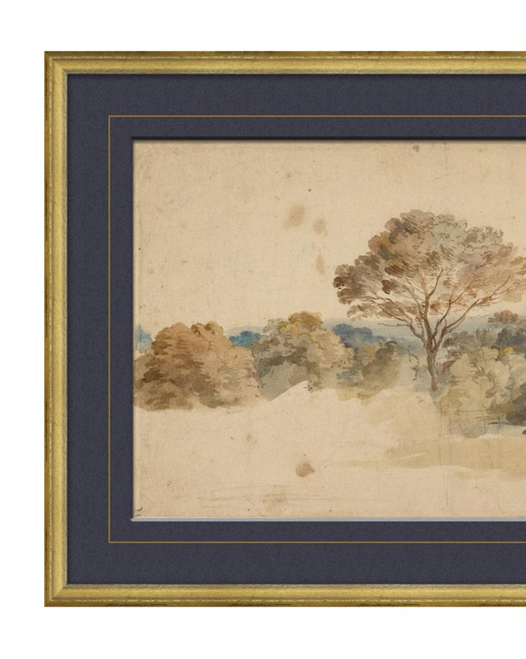 VINTAGE LANDSCAPE Framed Art