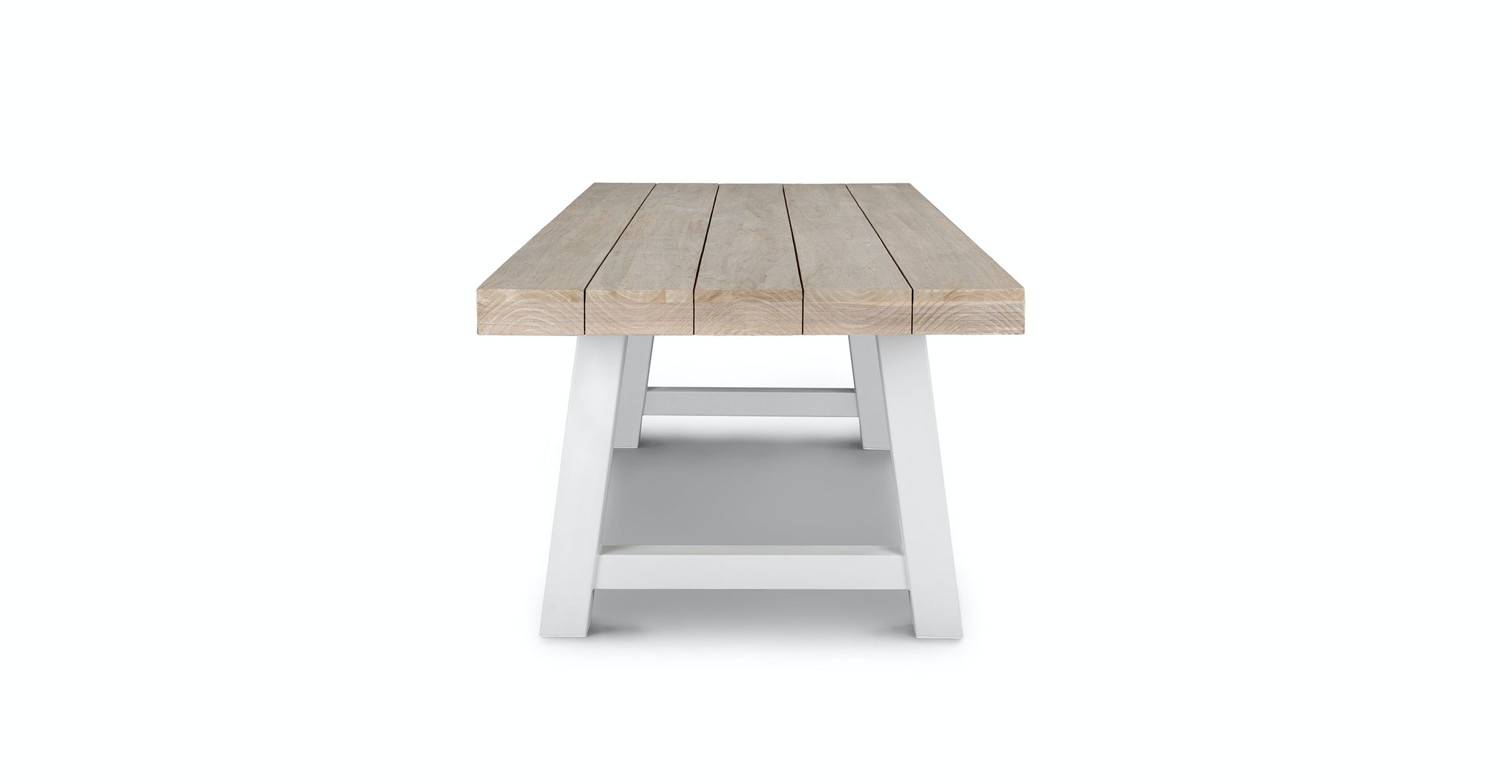 Tavola Driftwood Gray Dining Table for 8