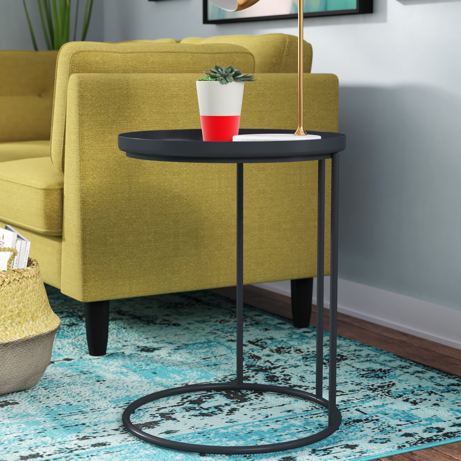 Higuchi Tray Top C Table End Table