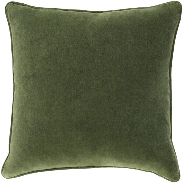 Baylie Square Cotton Velvet Pillow Cover