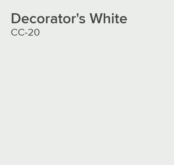 Ben® Waterborne Interior Paint - Eggshell Gallon Decorator's White CC-20