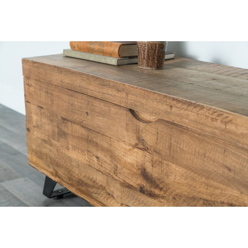 Glenns Solid Wood Lift Top Sled Coffee Table with Storage