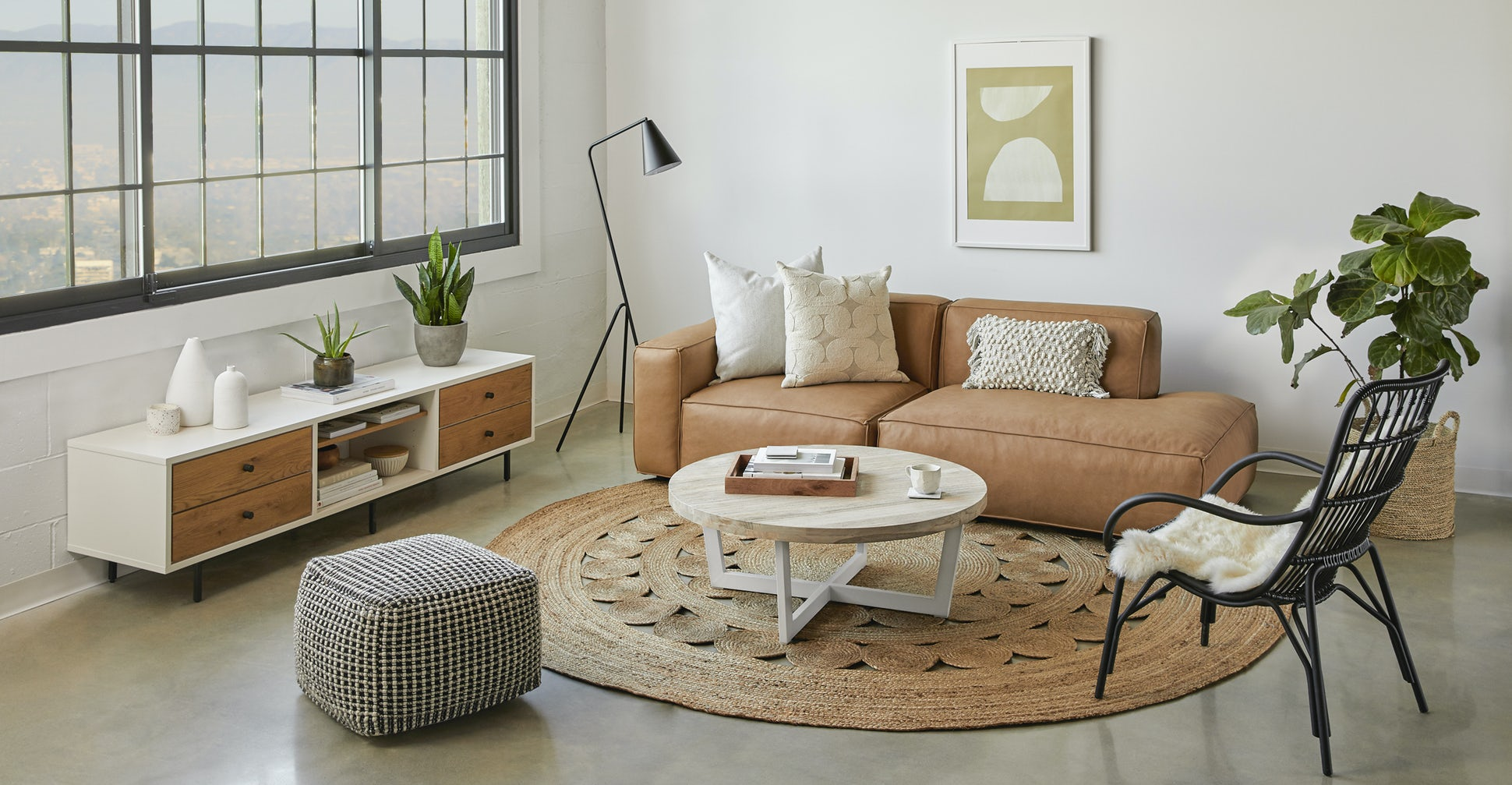 Toba Driftwood Gray Coffee Table