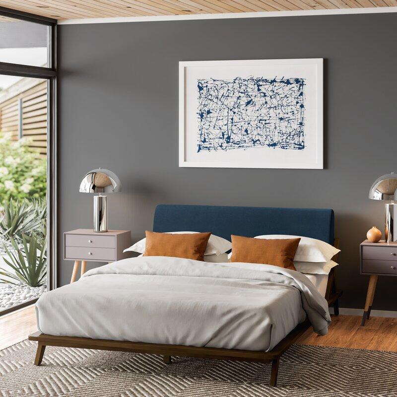 Kiana Queen Upholstered Platform Bed