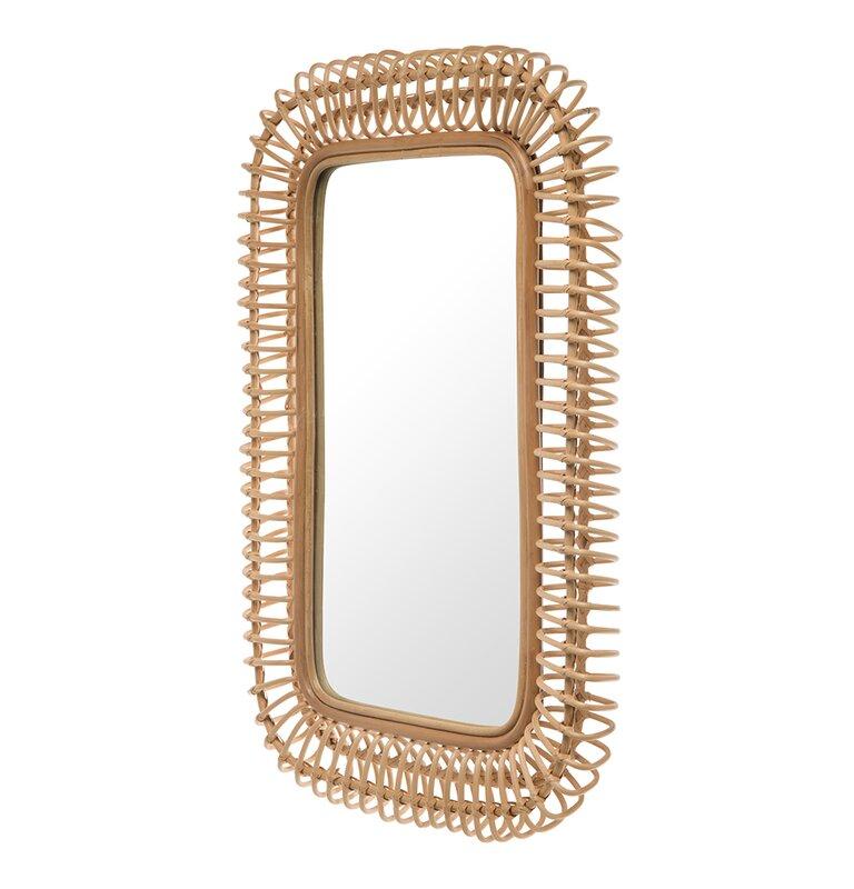 Tudor City Coastal Rectangle Accent Mirror