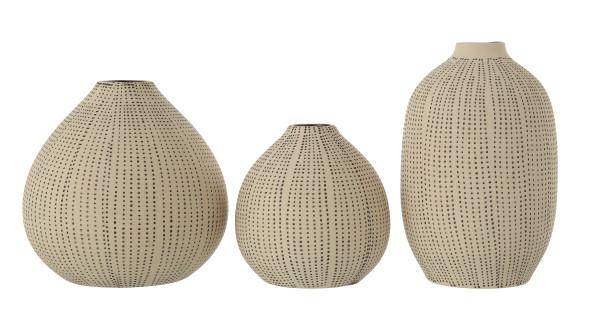 Enok Stoneware Vases, Set of 3