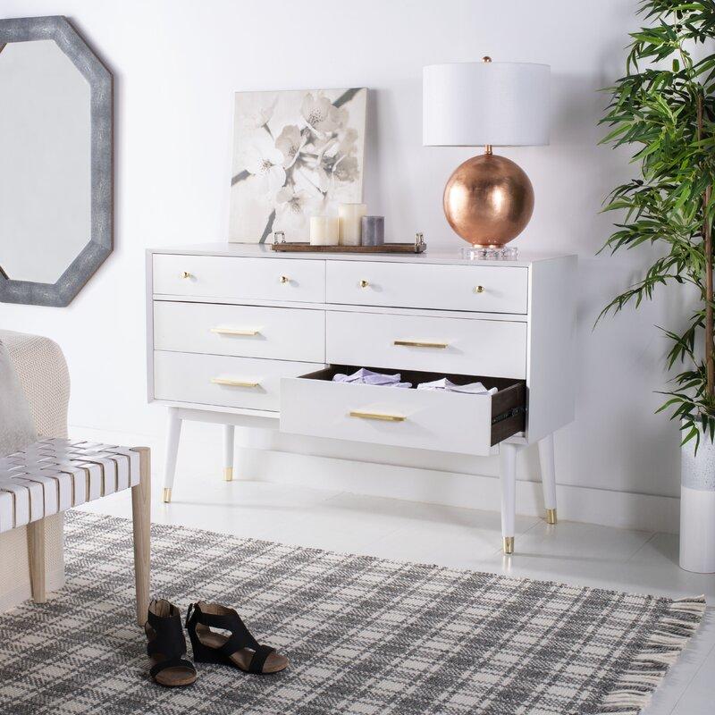 Winhall 6 Drawer Double Dresser