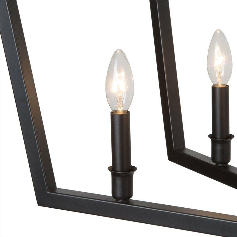 Stenberg 8 - Light Lantern Linear Chandelier