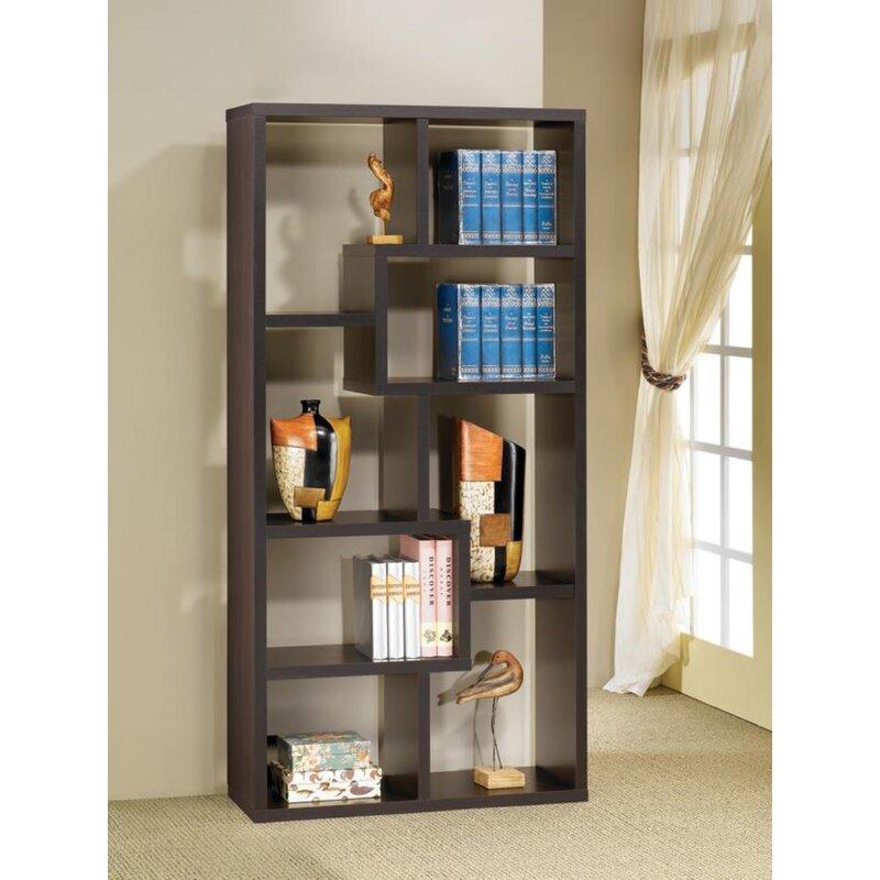 Ansley Geometric Bookcase
