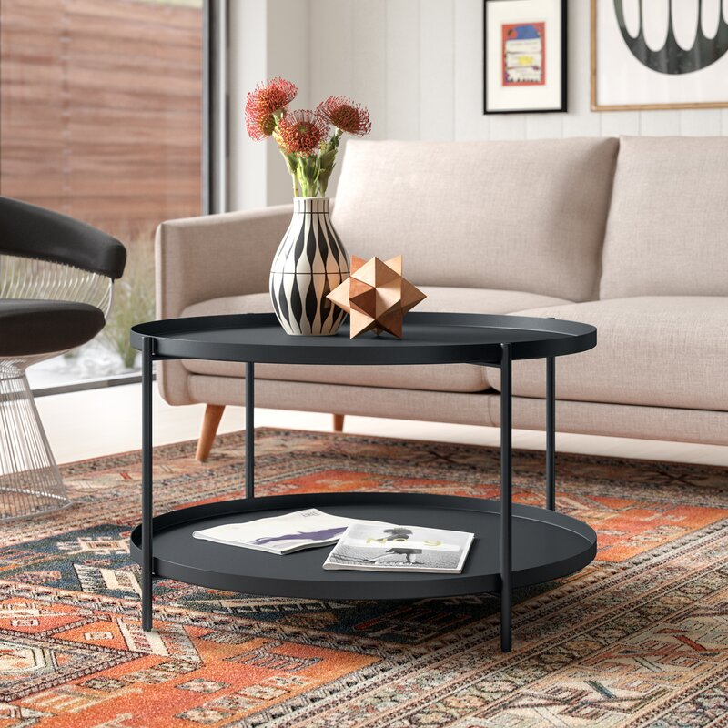 Shasta Coffee Table with Tray Top