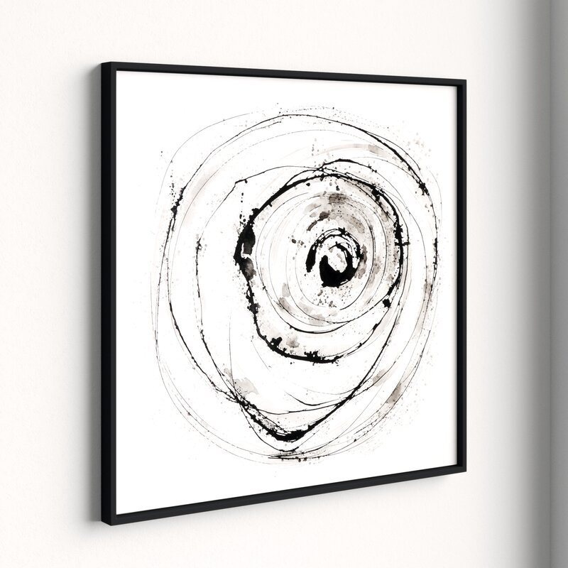 Eye on the World - Picture Frame Painting on Canvas