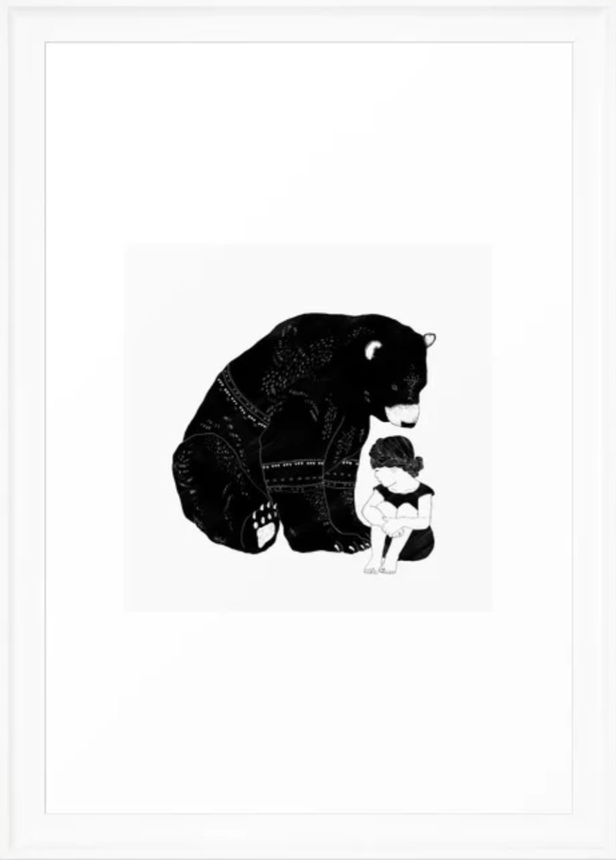 Shelter Framed Art Print by Amy Hamilton