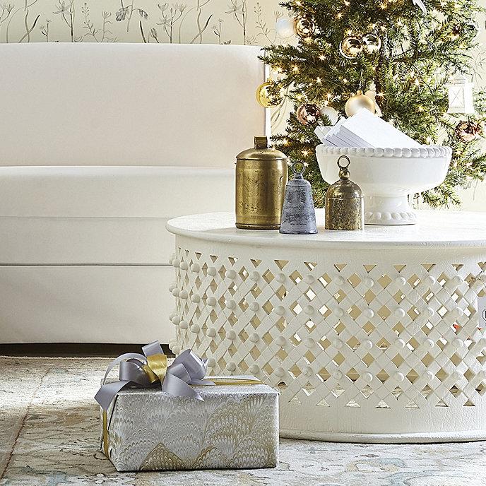 Bornova Coffee Table - Antique White